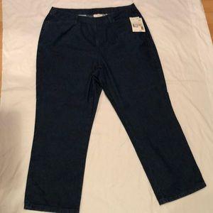Liz Claiborne petite pocket bootcut jeans